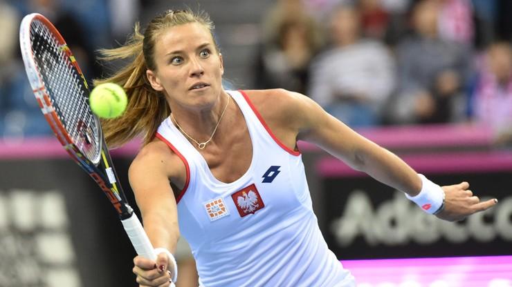 WTA Elite Trophy: Porażka w deblu Rosolskiej