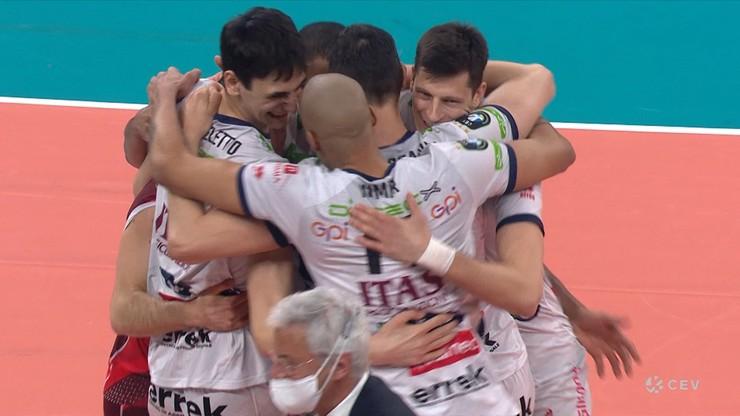 Liga Mistrzów: Perugia wygrała na otarcie łez. Trentino rywalem ZAKSY Kędzierzyn-Koźle w finale