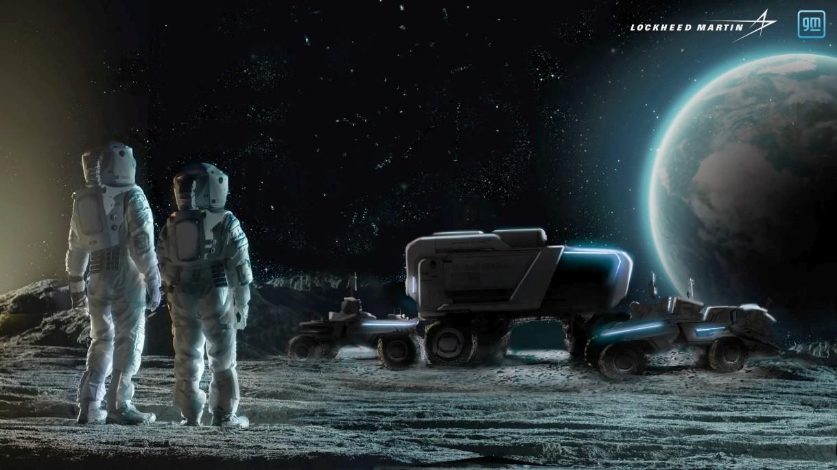 General Motors chwali się projektami pojazdów, które pojawią się na Księżycu [WIDEO]