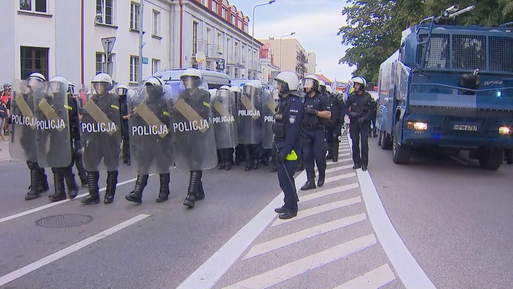 Zajścia podczas Marszu Równości. Policja ustaliła tożsamość ponad 70 osób