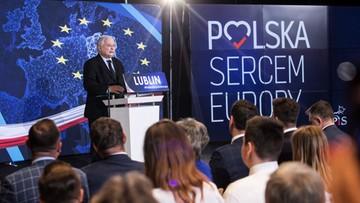 Kaczyński: wybory do PE są bardzo znaczące; są szansą na to, aby poczynić kroki w dobrą stronę