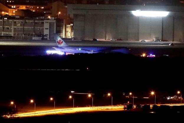 Samolot pasażerski awaryjnie lądował w Madrycie