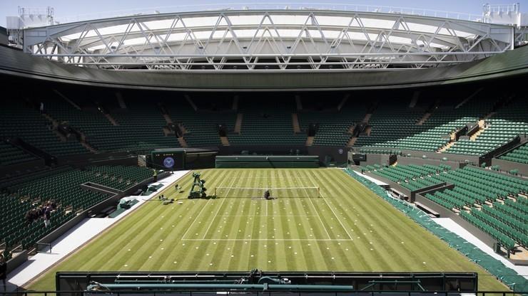 Lorek: Organizatorzy Wimbledonu zabezpieczyli również pracowników
