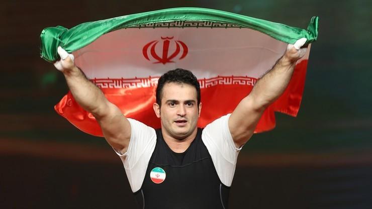 Igrzyska Azjatyckie: Rekord świata irańskiego sztangisty
