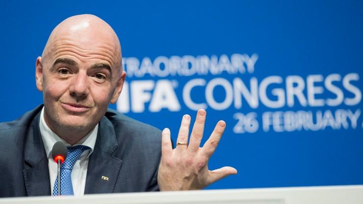 Nowy prezydent FIFA: chcę, żeby w każdym kraju był widoczny rozwój piłki nożnej