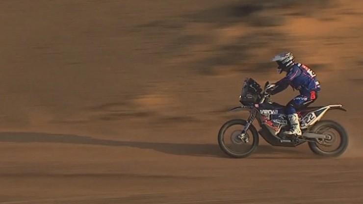 Maciej Giemza wycofał się z Rajdu Dakar po wypadku