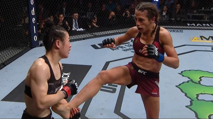 Joanna Jędrzejczyk - Weili Zhang: To nie była najlepsza walka w tym roku. Tak twierdzi Rose Namajunas