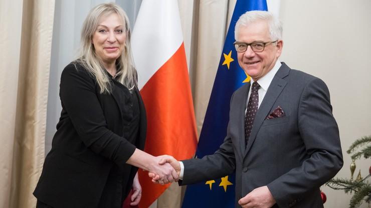 """""""Ambasador Polski w Iraku została ewakuowana ze względów bezpieczeństwa"""""""