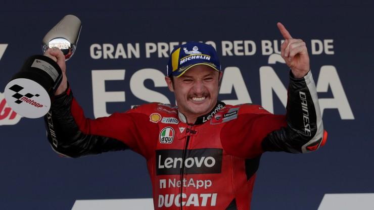 MotoGP: Zwycięstwo Jacka Millera w Hiszpanii