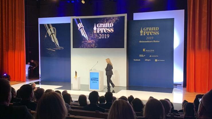 Grand Press 2019. Tomasz Sekielski Dziennikarzem Roku