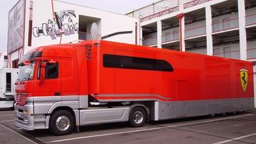 Ciężarówki Scuderia Ferrari przywiozły nielegalnych imigrantów na Grand Prix Formuły 1