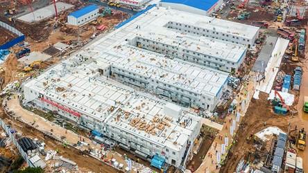 Stadion Narodowy zmienia się w wielki szpital polowy dla chorych na CoVID-19