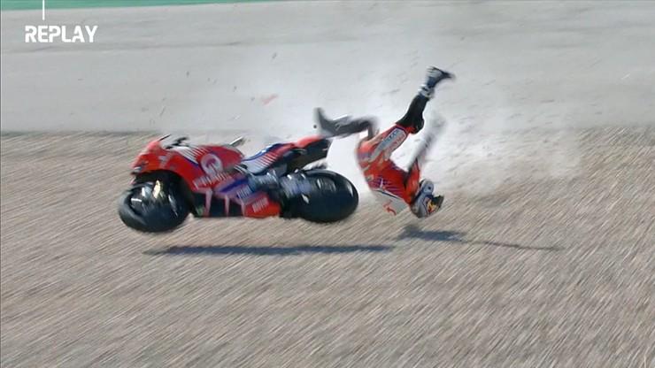 MotoGP: Poważny wypadek Jorge Martina (WIDEO)