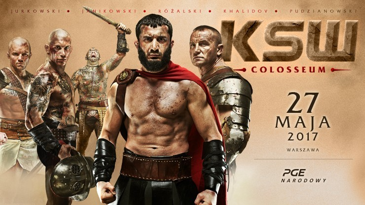 KSW 39: Colosseum. Khalidov, Pudzian, Popek i inni! Kliknij i oglądaj [TRANSMISJA]