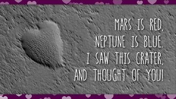 Walentynka prosto z Marsa. Wyślij ją ukochanej osobie na Ziemi