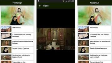 Aplikacja faustyna.pl. na smartfony i tablety