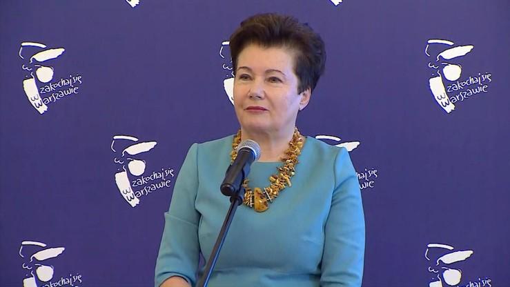 Gronkiewicz-Waltz: czekam na doprowadzanie silą przed komisję weryfikacyjną