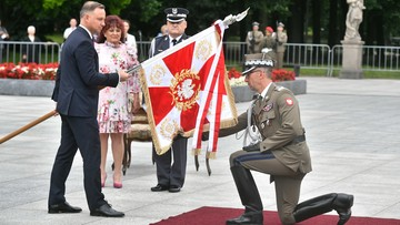 Uroczystość z okazji zakończenia polskiej misji wojskowej w Afganistanie