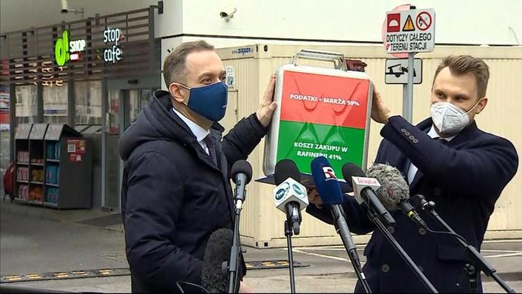 """""""Czas skończyć z łupieniem Polaków"""". KO o cenach paliw"""