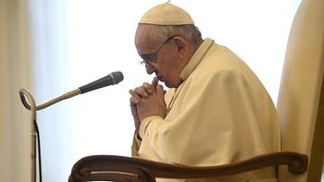 Papież: przemoc wobec kobiet to upadek całej ludzkości