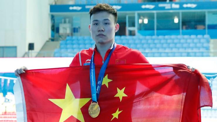 MŚ w pływaniu: Chińczyk ze złotym medalem