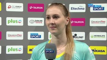 Anna Stencel: To był wyrównany mecz