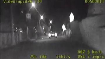 Pościg ulicami Głogowa. Kompletnie pijany kierowca pędził 140 km/h