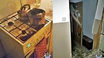 Wybuch w kuchni w Wałbrzychu. Ostro grzał fryturę i zasnął. Prawie wyleciał w powietrze