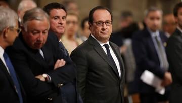 Hollande zapowiada powołanie Gwardii Narodowej