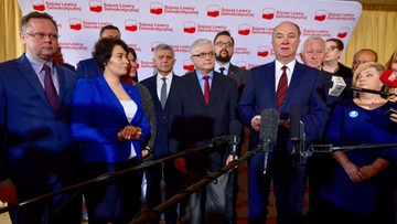 """Miller, Cimoszewicz, Belka i Liberadzki wśród kandydatów SLD do PE. """"Ekipa, z której jestem dumny"""""""