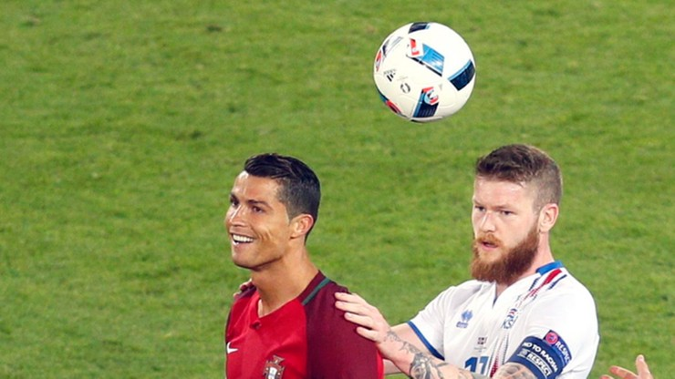 Zobacz reakcję Ronaldo na prośbę o wymianę koszulek