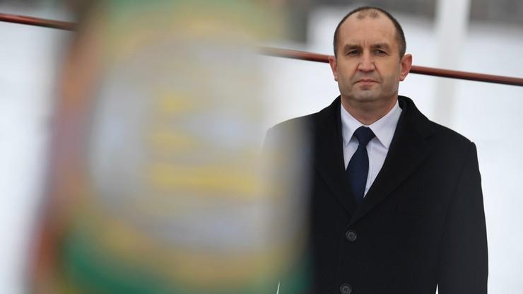 Nowy prezydent Bułgarii rozwiązał parlament i mianował tymczasowy rząd