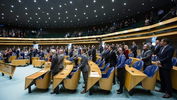 W belgijskim parlamencie oddano hołd ofiarom zamachów