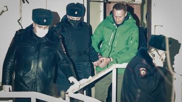 Nawalny z moskiewskiego aresztu: nie żałuję powrotu