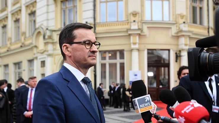 Morawiecki: dywagacje Lecha Wałęsy ws. Unii Europejskiej są bardzo szkodliwe