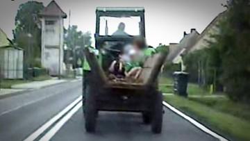 Ta przejażdżka mogła skończyć się tragicznie. Internauci krytykują policję