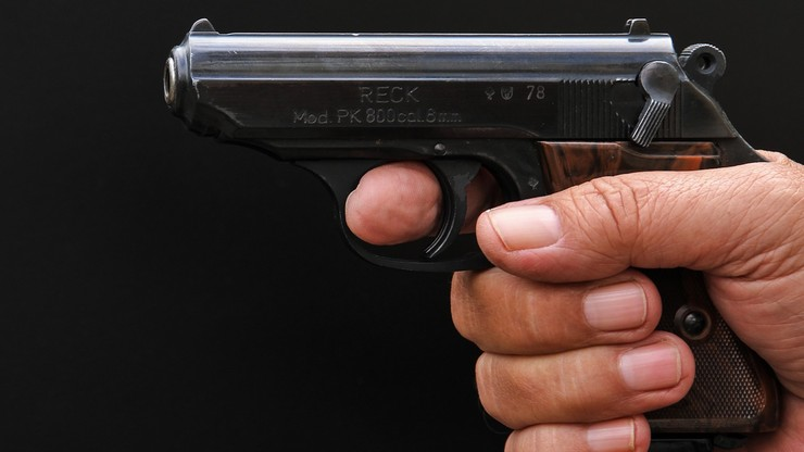 Białystok: chciał zastrzelić mężczyznę w centrum miasta. Pistolet nie wypalił