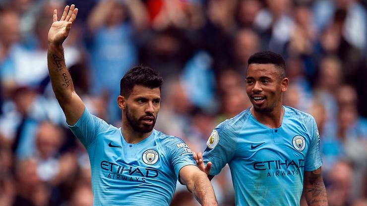 Sześć goli bezlitosnego Manchesteru City! Hat-trick Aguero