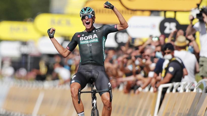 Tour de France: Nils Pollit wygrał etap. Tadej Pogacar nadal liderem