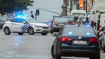 Belgijska policja ostrzelała i zatrzymała samochód. W środku nie było materiałów wybuchowych