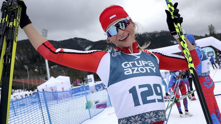 Narciarskie MŚJ: Izabela Marcisz mistrzynią w biegu na 10 km techniką dowolną