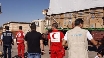 Atak na konwój ONZ w pobliżu Aleppo. Zginęli wolontariusze Czerwonego Krzyża