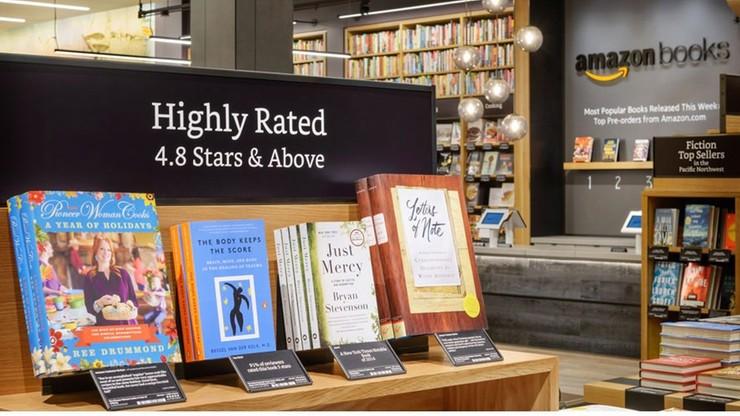 """Amazon otworzył pierwszą księgarnię """"w realu"""""""
