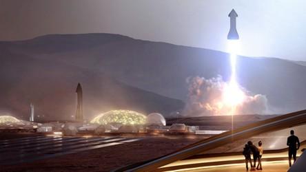 NASA znalazła najlepsze miejsce do budowy pierwszego miasta na Marsie