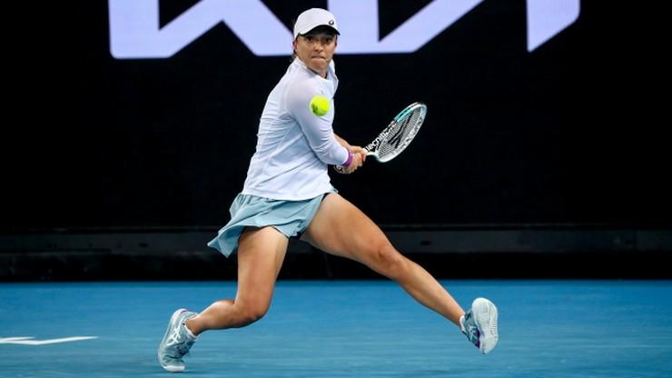 Australian Open: Świątek nie dała szans rywalce. Polka w 1/8 finału