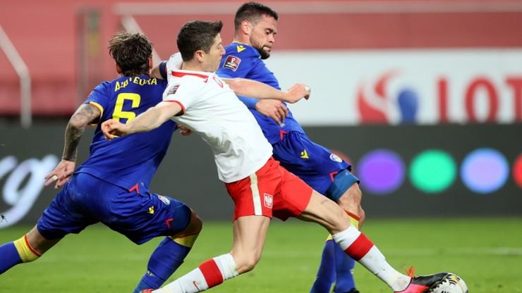 El. MŚ 2022: Polska - Andora. Skrót meczu (WIDEO)
