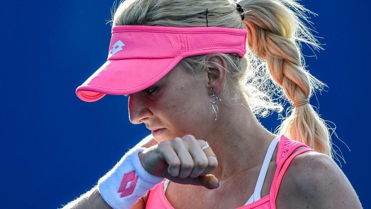 Ula Radwańska: wygrywała 6:0 3:0 i odpadła z Australian Open
