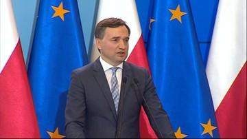 Ziobro o sprawie byłego wiceministra Piebiaka: nie będę tolerował tego rodzaju zachowań