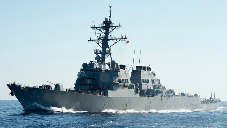Zbyt bliskie spotkanie USS Gravely z fregatą Jarosław Mudryj