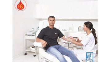 Cristiano Ronaldo ambasadorem centrum krwiodawstwa w Białymstoku